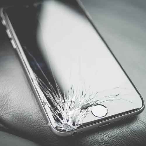 Cracked Cell Phone Screens